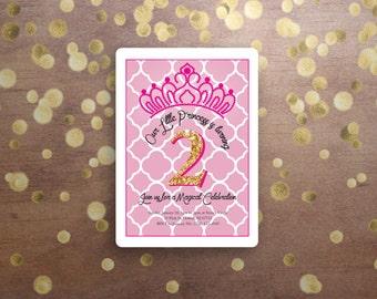 Princess Birthday Invite 2