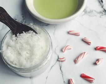 Peppermint, Body Scrub, Sugar Scrub, Natural Skincare, Exfoliating