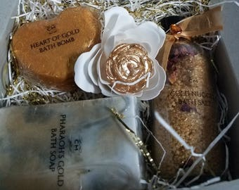 Mother's Day All Gold Bath & Body Set