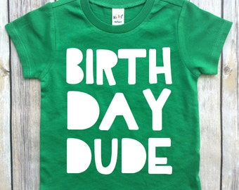 boys birthday shirt, boys shirt, birthday tee, birthday dude, first birthday shirt, toddler birthday, birthday gift for boys, two years old,