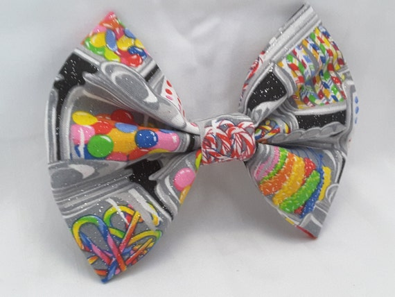 candy hair bow, hair clips, colorful candy hair clip , hair accesories , hair bow