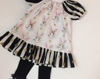 Handmade Easter ruffle Dress