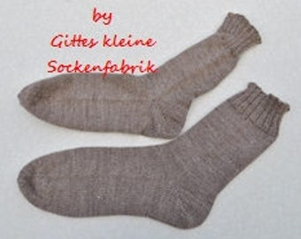 knitted socks 42/43