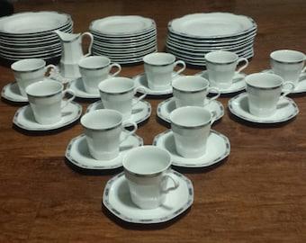 Christopher Stuart- Lyric- Fine China Set- 56 piece set- Dining