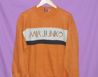 Vintage Mr Junko Junko Koshino Japanese Designer Medium  Size Sweatshirt Sweater Jacket