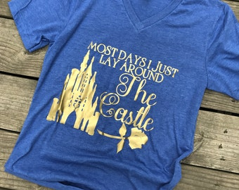 UNISEX Beauty & the Beast tee // belle shirt // disney tee // disney vneck // princess shirt // disney world shirt // disneyland shirt//beau
