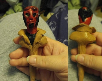 Hellboy Handcrafted Clay Pen