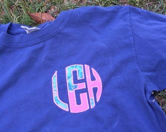 Monogram Lilly Pulitzer Long Sleeve Shirt