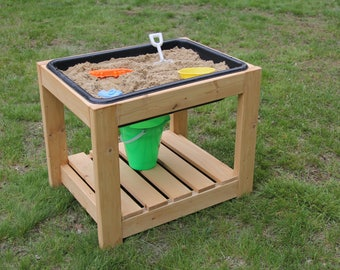 Sand table with cover // water table // outdoor play table