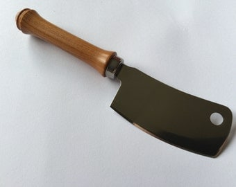Tasmanian Myrtle and Stainless Steel Cheese Cleaver