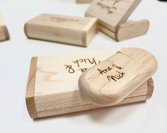 Customized  Wood Pen Drive with Box