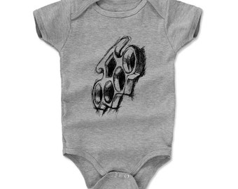 Brass Knuckles Sketch K Onesie (am)