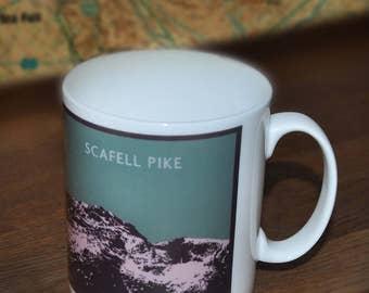 Scafell Pike Bone China Mug