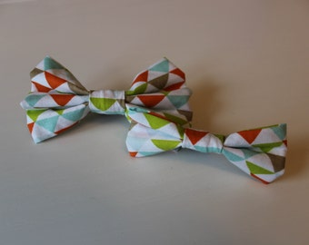 Zoe Dog Bow Tie - Green