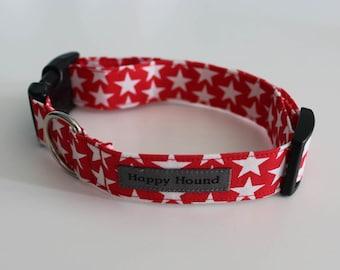 Alex Dog Collar - Red