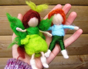 waldorf dolls, woodland children, nature table elves, forest dwellers, pagan children, elven toys, druid dolls, wiccan kids, elf kendal uk