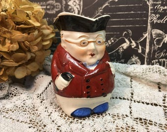 Vintage Toby Pitcher/made in Japan/Ben Franklin/Collectible