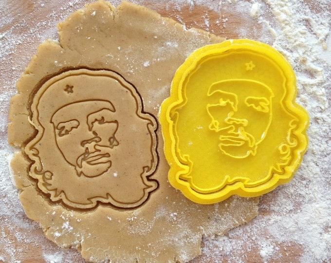 Che Guevara cookie cutter. Comandante cookie stamp. Che Guevara cookies
