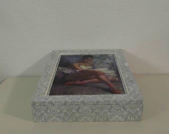 Wooden box prima ballerina