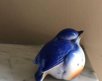 Potpourri blue bird figurine