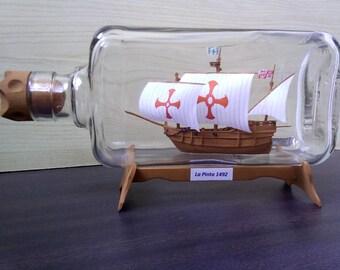 Pinta, ship in a bottle