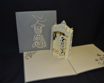 3-D Closet/Wardrobe Pop-Up Card