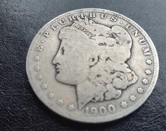 1900-O silver Morgan dollar. #m284