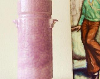 Pink West Germany vase, Ukeramik