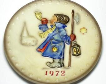 1972 Goebel Hummel Plate - 2nd edition