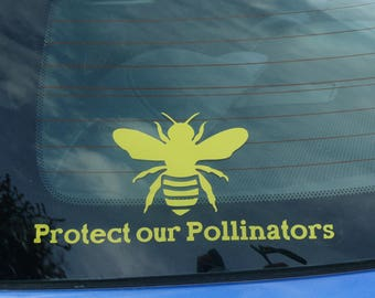 Protect our Pollinators Vinyl Decal