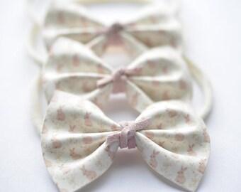Vintage bunny bow
