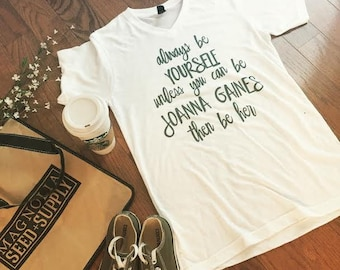 Joanna Gaines Original Tee  (White Vneck)