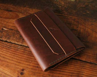 The Melchior Wallet -- Field Notes and Passport Leather Wallet