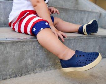 4th of july  shorts - fourth of july shorts - baby shorts - kids shorts- patriotic shorts- harem shorts - baby boy