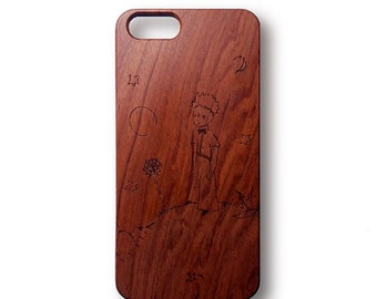 Casing wood natural Custom iPhone 5 / 5S / IS / 6 / 6S