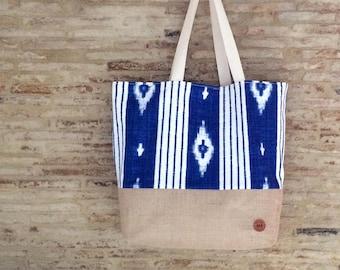 "Beach Bag - ""OCEAN DAZE"" Beach Bag / Travel Bag / Summer Bag / Tote Bag / Sac de Plage / Sac Fourre-Tout"