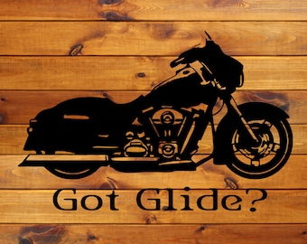 H-D SG Motorcycle Decal