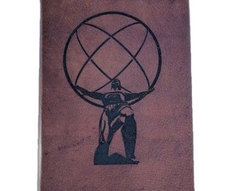 Leather Bound Atlas Shrugged By Ayn Rand