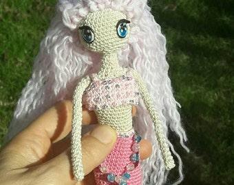 Mermaid crochet amigurumi