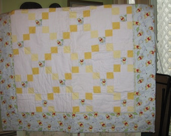 Winnie the Pooh Child's or Baby Quilt