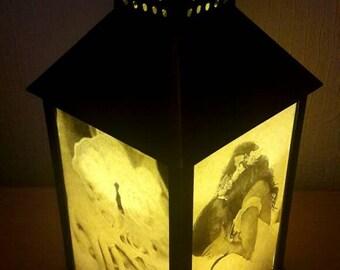 Personalised Wedding/Romantic Lantern