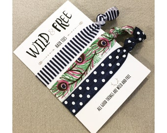 Wild and Free Hair Ties - Shake Your Tail Feathers