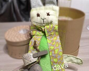 Rabbit plush toy, Enri