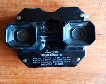 Sawyer's VIEW-MASTER Black Vintage Toy