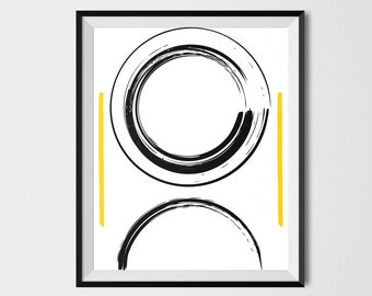 Abstract Printable Art, Ink Art, Line Drawing, Abstract Poster, Abstract Gallery Art, Minimalist Poster, Contemporary Poster, Modern Poster