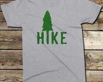HIKE - Hiking T-Shirt - Backpacking T-Shirt - Nature T-Shirt