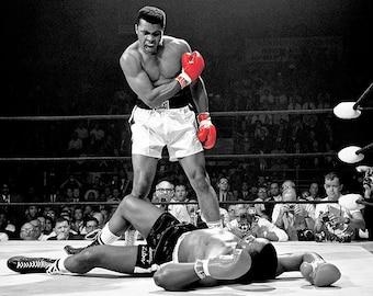 Muhammad Ali ,Canvas Art,Prints-Posters-Sports-Art on Canvas.