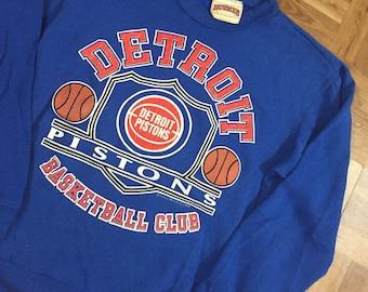 1988 Pistons Bad Boys era Crewneck Size Mens Large