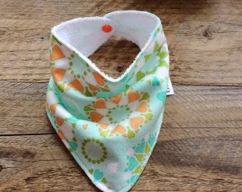 Baby bib, baby bandana bib, baby bib scarf, dribble bib, drool bib, teething bib, scarf bib, baby girls bib, baby shower gift, drool scarf