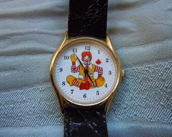 McDonalds Canada quartz watch Ronald Mcdonald